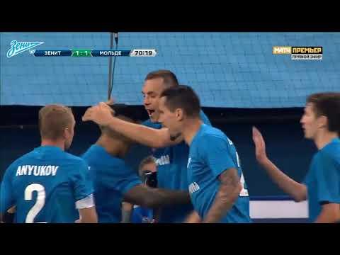 [Europa League Qualification 18/19] Zenit St Petersburg 3-1 Molde - Highlights 23 August 2018 видео