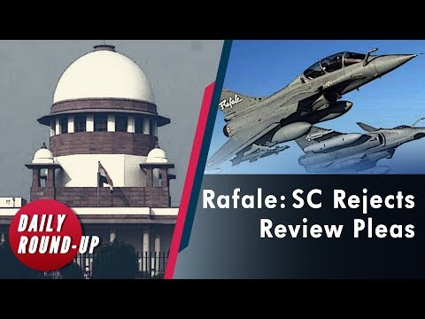 Rafale and Sabarimala Review Petition, Trump Impeachment and more
