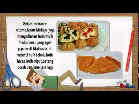 Video Makanan Tradisional Kaum Di Malaysia