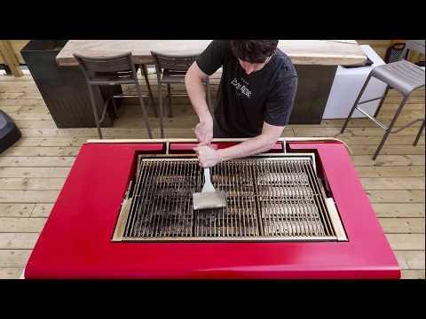 El peligro de los cepillos de alambre para limpiar parrillas.