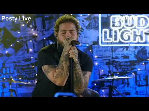 Post Malone - Wow (Live Bud Light Tour)
