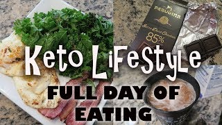 Keto Lifestyle l Full Day of Eating