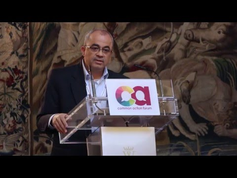 Emad Shahin at CAF 2015 annual Forum - 4th Session