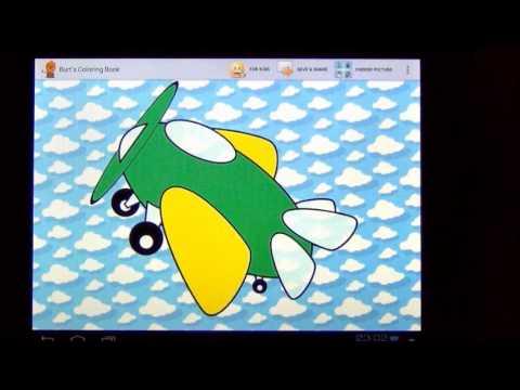 Video of Burt's Coloring Book HD