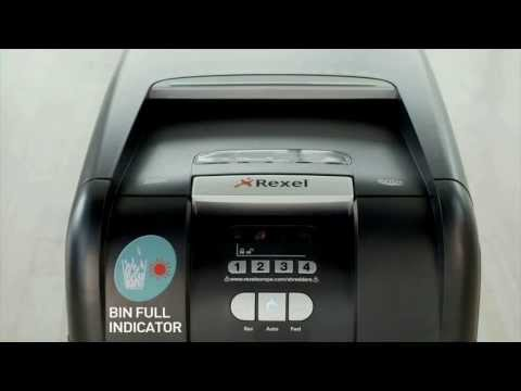 Video of the Rexel Auto+ 250X Shredder