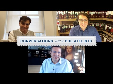 Conversations with Philatelists Episode 15: Sebastien Delcampe