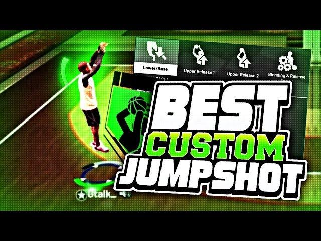 BEST CUSTOM JUMPSHOT IN NBA2K19|100% GREEN RELEASE EVERY