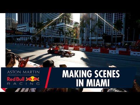 F1 Festival Miami   Patrick Friesacher Makes Scenes On The Streets
