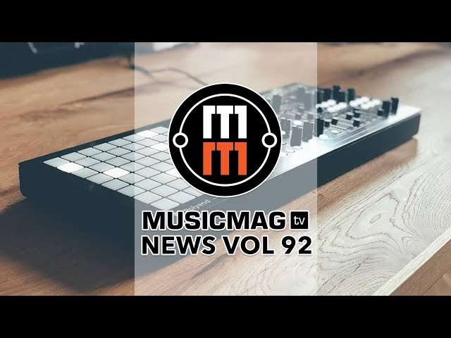 MUSICMAG TV NEWS #92: Dreadbox Medusa, синтезатор от Google, синти-микшер и др.