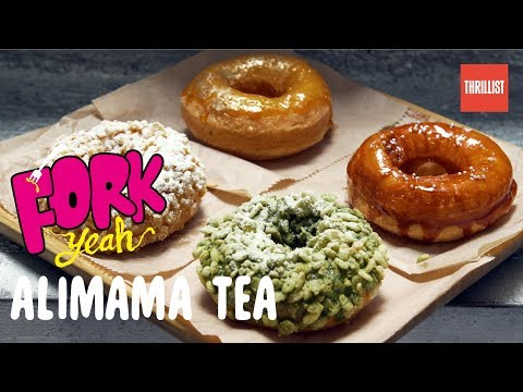 The Home of Chinatown's Perfect Mochi Donuts    Fork Yeah: Alimama Tea