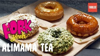 The Home of Chinatown's Perfect Mochi Donuts || Fork Yeah: Alimama Tea