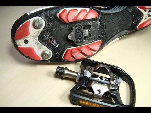 Shimano SPD Cleat montieren (deutsch)