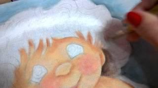 Série anjinho iniciando o cabelo – Fase 5