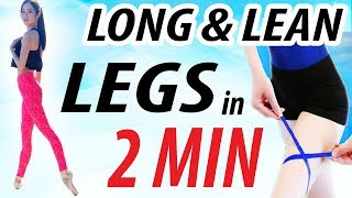 How to Get a THIGH GAP in 2 Minutes!!