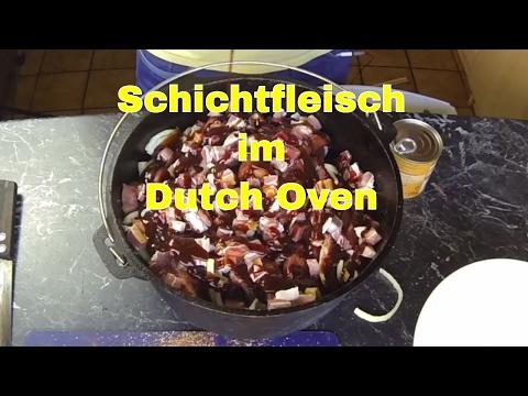 Rezept: Schichtfleisch im Dutch Oven