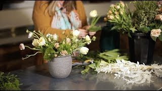 How To Create A Spring Floral Arrangement