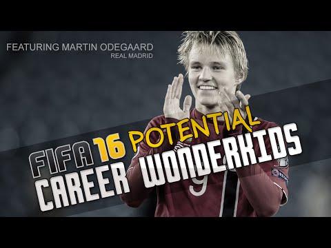 Fifa 16 Career Mode Potential Wonderkids Ft Hachim Mastour