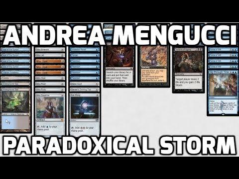 Channel Mengucci - Vintage Paradoxical Storm (Deck Tech & Matches)
