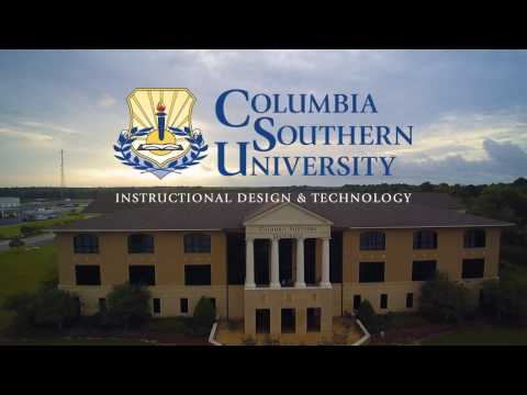 Columbia Southern University's Instructional Design & Technology