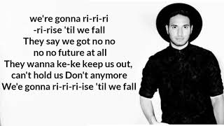 Jonas Blue  Rise (lyrics) 🎵 Ft. Jack & Jack