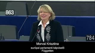 """""""Hazám, keresztény Európa..."""" Morvai utolsó felszólalása az Európai Parlamentben"""