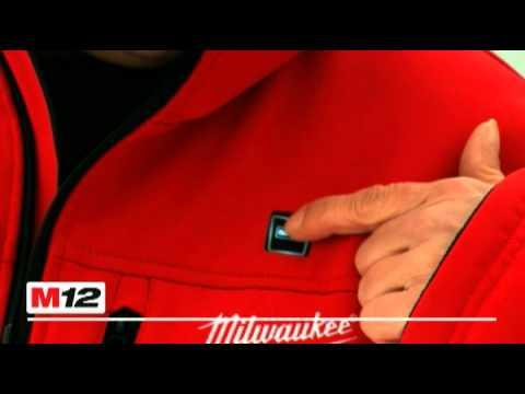 Milwaukee C12HJ Akku Thermo Jacke
