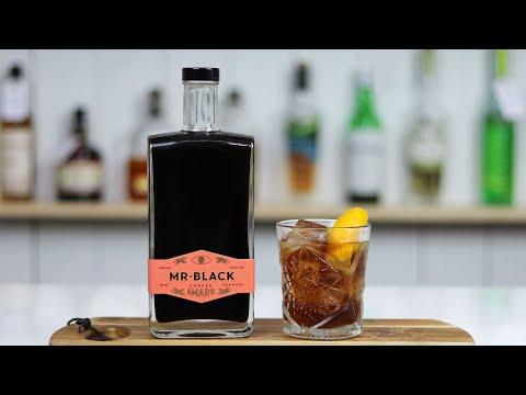 Blackjack Cocktail featuring Mr. Black Amaro!