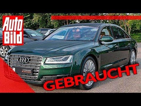 Audi A8 W12 6.3 FSI (2015): Auto - Gebrauchtwagen - Preis