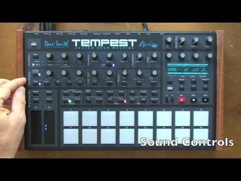 DAVE SMITH INSTRUMENTS Tempest Bicí syntezátor