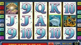 Игровые автоматы Dolphins Pearl (Дельфины) - Gaminator Novomatic