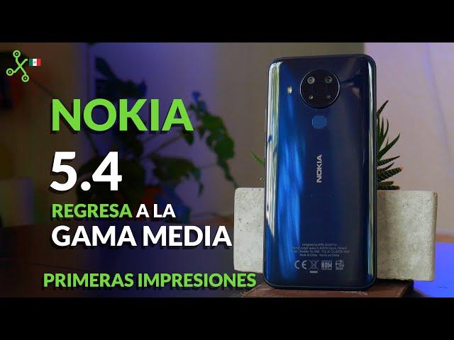 Nokia 5.4, UNBOXING en México: GAMA MEDIA con TRES años de ACTUALIZACIONES