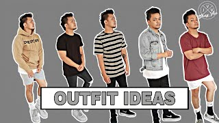 OUTFIT IDEAS PHILIPPINES MEN | MEN'S FASHION PH | 5 OUTFITS