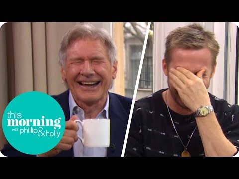I've never seen Harrison Ford laugh so much