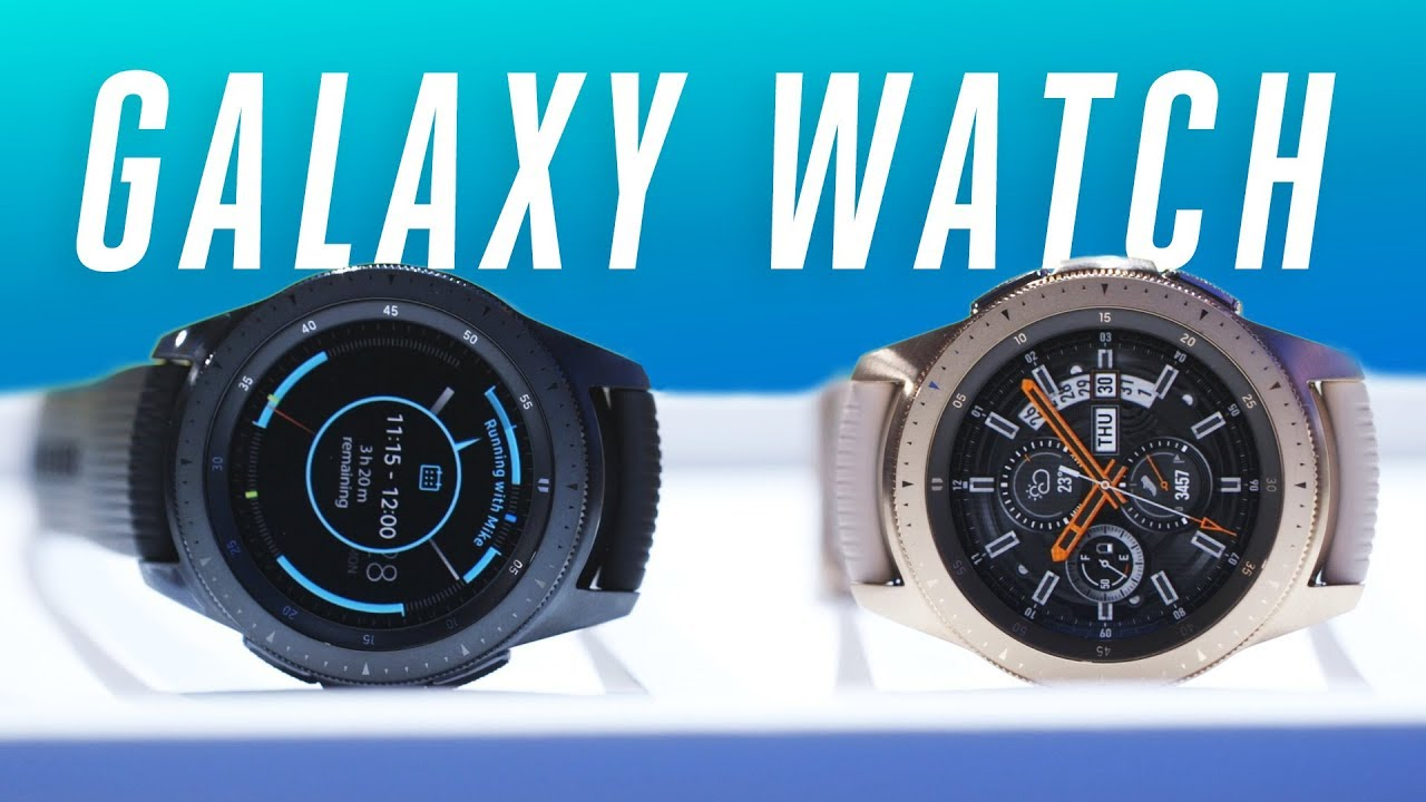 Samsung Galaxy Watch hands-on thumbnail