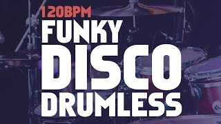 Funky Disco Drumless Backing Track