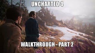 Uncharted 4 - Full Walkthrough [Part 2/5] [PS4 Pro]