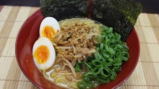 How to make miso ramen 味噌ラーメン(間違いあり)