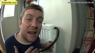 REMOVE AIRLOCK FROM RADIATOR - Plumbing Tips