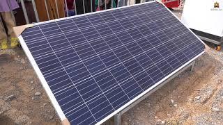 السيد رئيس جهة الشرق يشرف على توزيع الواح الطاقة الشمسية وأجهزة التبريد على 50 عائلة بجماعة بوعنان