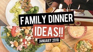 What's For Dinner? Family Dinner Ideas for Kids and Family