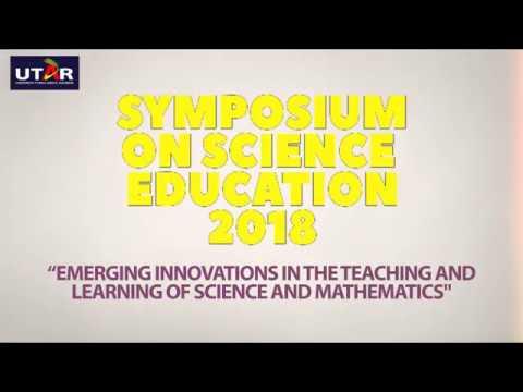 Symposium on Science Education 2018 (SoSE 2018)