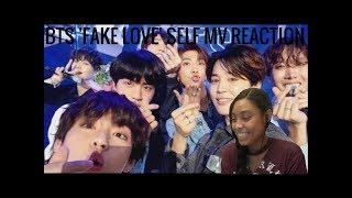 BTS (방탄소년단) 'FAKE LOVE' Self MV (Music Bank Encore Stage) Reaction
