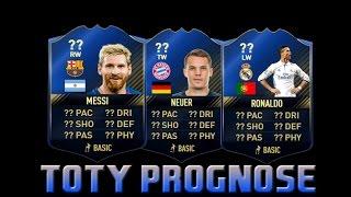 TOTY PROGNOSE - FIFA 17 Ultimate Team - Team of the Year Predicition [Deutsch/German]