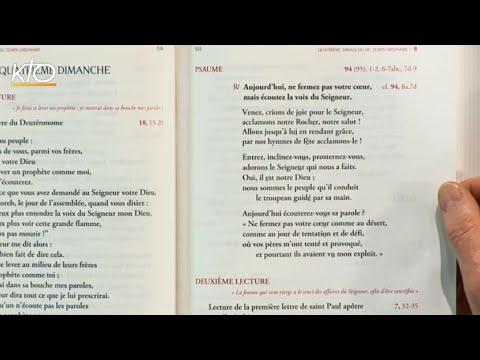 4e dimanche ordinaire B - Psaume