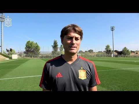 DESDE DENTRO | Julen Guerrero, ambicioso en sus primeros entrenamientos con la Selección Sub-16