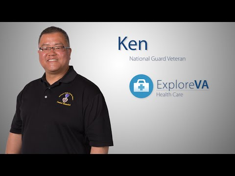 As a VA doctor, Ken knew VA offered top-quality care even before his injury in Iraq.