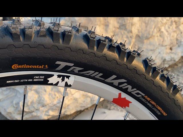 "Видео Покрышка Continental Trail King ShieldWall TR 26"" x 2.2"", Folding"