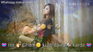 Aaj ro len de   Very sad song whatsapp status video   30 second sad status for love   Sad   Bewafa