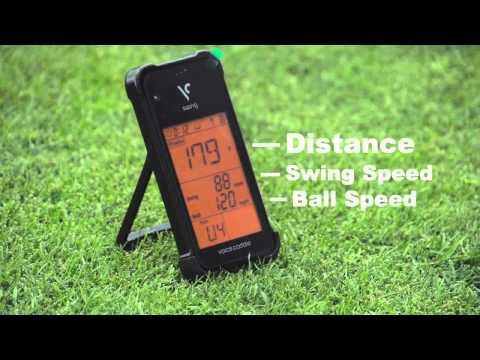 Voice Caddie Swing Caddie SC100 Portable Launch Monitor