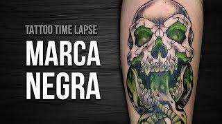 MARCA NEGRA | Dark Mark (Harry Potter) - Comentado - Tattoo Time Lapse #66